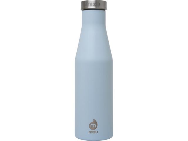 MIZU S4 Borraccia isolante 400ml con tappo in acciaio inossidabile, blu/argento